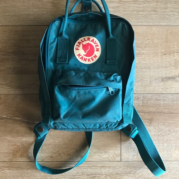 67013ae4e950 Fjallraven Handbags - Fjallraven Kanken Mini Backpack Ocean Green 💚💙